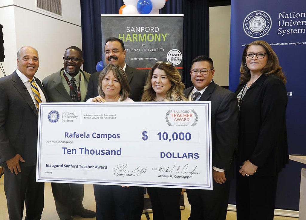 Sanford Teacher Award