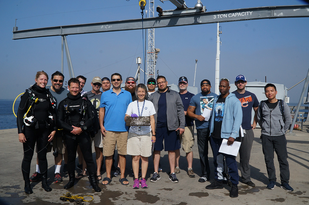 National University STEM students and faculty collaborate with Scripps Institute of Oceanography to conduct on-site research