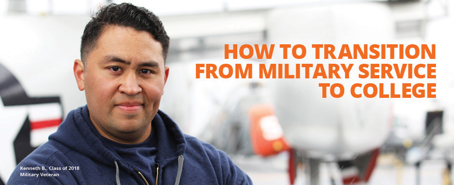 How To Transition From Military Service To College