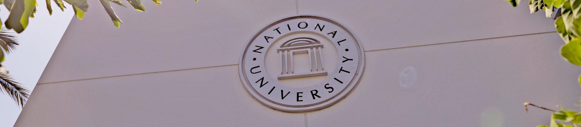 National University seal,