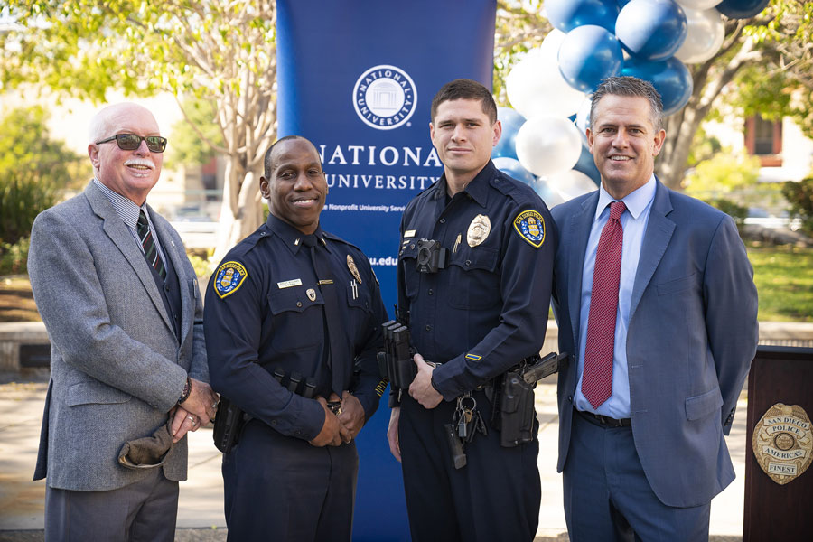 National University Offers Accelerated Pathway for Public Safety