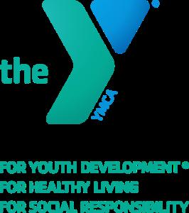 YMCA logo with tag
