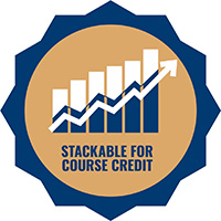 Stackable Course Credit Logo