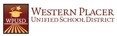 Western Placer Unified School District logo.